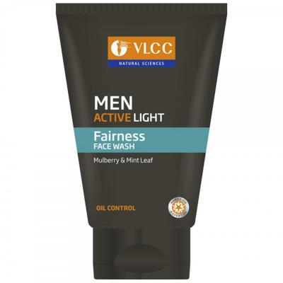 VLCC MEN ACTIVE LIGHT FACEWASH - 100 GM