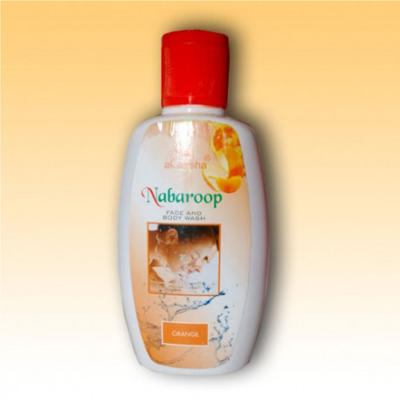 Akansha Nabaroop Orange Face & Body Wash 100 ml