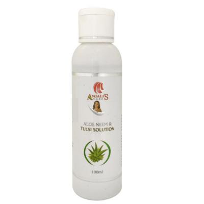 Anjali's Care Aloe Neem & Tulsi Solution 100ml