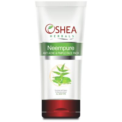 Oshea Herbals Neempure, Anti Acne And Pimple Face Pack - 120 gm