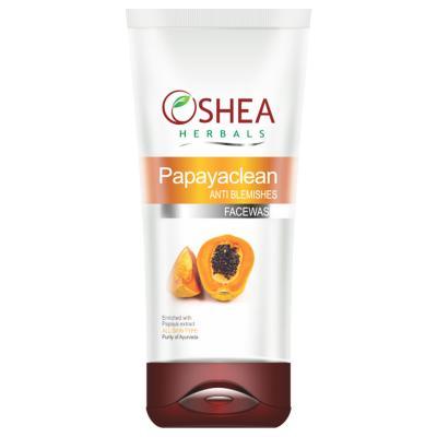 Oshea Herbals Papayaclean, Anti Blemish Face Wash - 120 gm