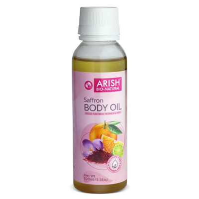 Arish Saffron Body Oil 100ml