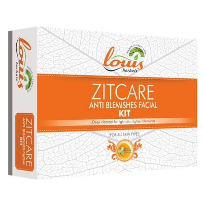 Louis Herbals Zitcare Anti Blemishes Facial Kit 114 gm