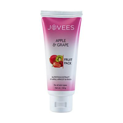 Jovees Herbals Apple & Grape Fruit Pack 120 gm