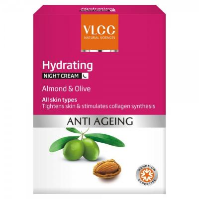 VLCC ANTI AGING NIGHT CREAM- 50 GM