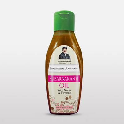 Parampara Subarnakanti Oil With Neem & Turmeric 100ml