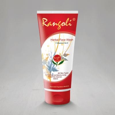 Rangoli Ayurved Herbal Face Wash 100ml