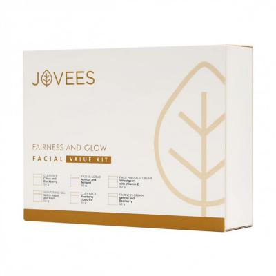 Jovees Herbals Fairness and Glow Facial Value Kit