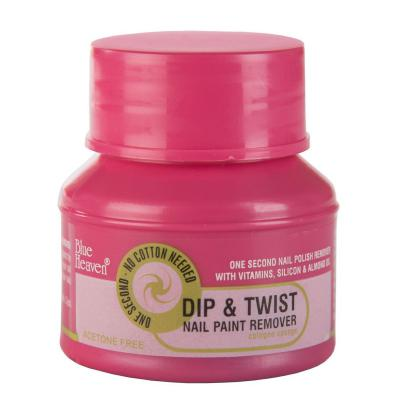 Blue Heaven Cosmetics Dip & Twist Nail Paint Remover