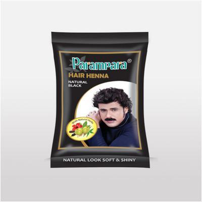 Parampara Black Henna 20gm Pack of 10