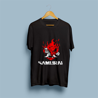 Uniq Samurai Regular Fit Half Sleeve T-Shirt