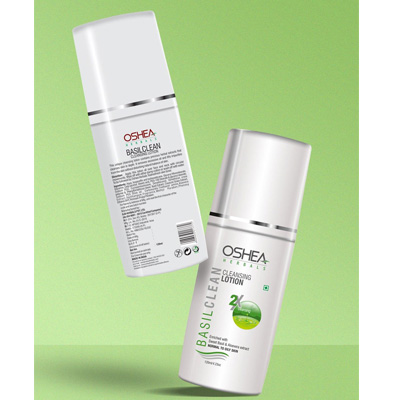 Oshea Herbals Basilclean, Cleansing Lotion - 120 ml