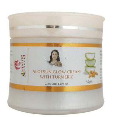 Anjali's Care Aloe Sun Glow Cream With Turmeric 50gm