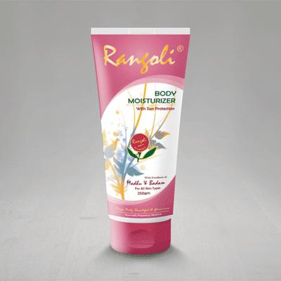 Rangoli Ayurved Body Moisturizer 250ml