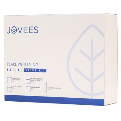 Jovees Herbals Pearl Whitening Facial Value Kit