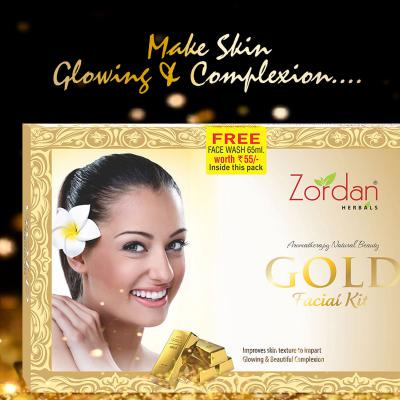 Altos Zordan Gold Facial kit 114gm