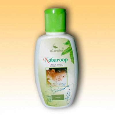 Akansha Nabaroop Neem Face & Body Wash 50 ml