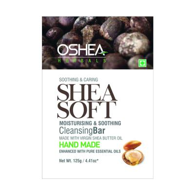 Oshea Herbals Shea Soft Cleansing Bar 125g