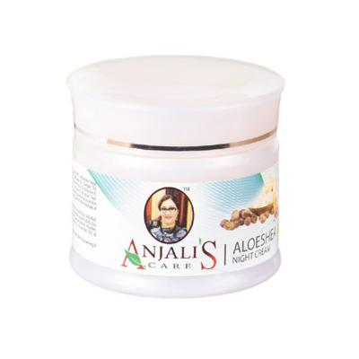 Anjali's Care Aloe Shea Night Cream
