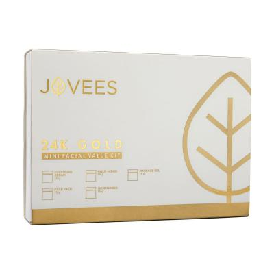 Jovees Herbals Mini 24 Carat Gold Facial Value Kit