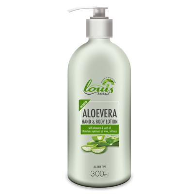 Louis Herbals Aloevera Hand & Body Lotion